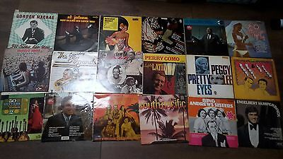 Job Lot - 18 Vintage Vinyl Records - Some rare and Doubles