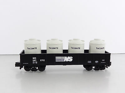 Lionel American Flyer S Gauge Norfolk Southern NS Gondola w/ Canisters 6-47964