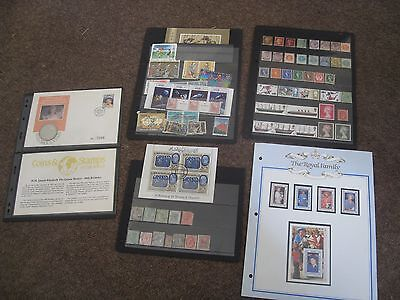 Rare Stamp Collection Queen Victoria Penny Brown Army Queen Mother