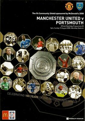 FA COMMUNITY SHIELD 2008 (Manchester United v Portsmouth)
