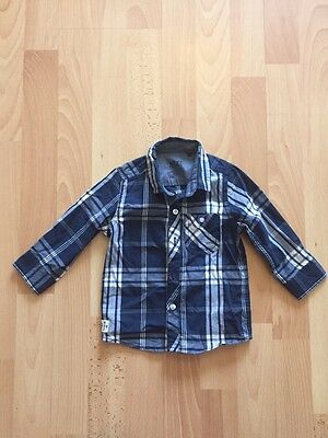 Next Baby Boys Checked Long Sleeved Shirt Age 9-12m
