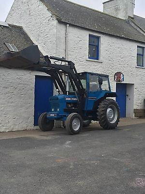Ford 4610 Tractor And Loader