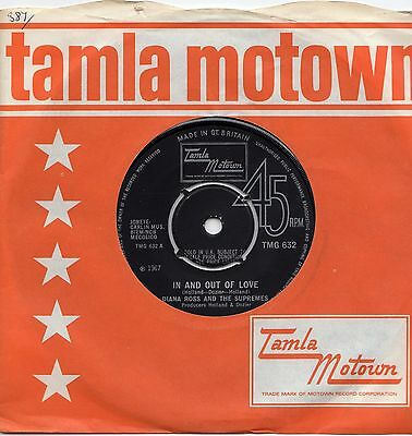 Dianna Ross And The Supremes - In And Out Of Love - Tmg 632 - Motown