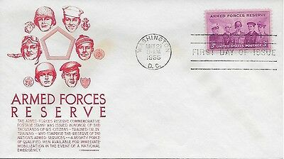 Scott #1057 - Armed Forces Reserve FDC