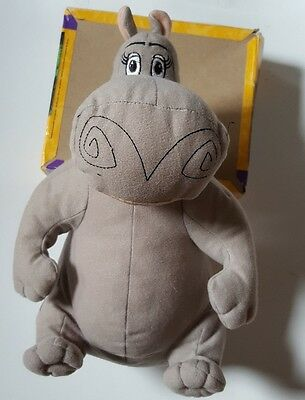 "Madagascar 3 GLORIA THE HIPPO 12"" Stuffed Animal Plush Toy Dreamworks"