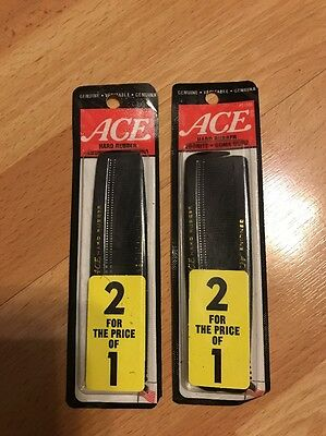 """VINTAGE 5"""" ACE COMB Hard Rubber.year 2000 -lot Of 4"""