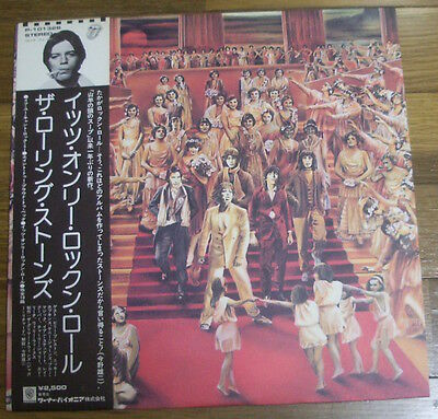 The Rolling Stones It's Only Rock 'n Roll Japan Lp Obi Keith Richards