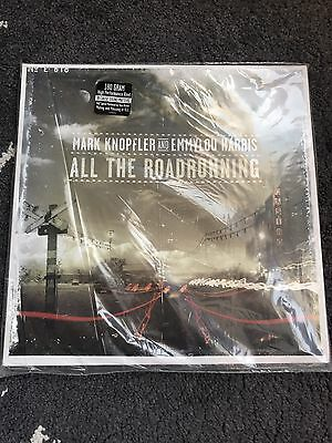 Mark Knopfler and Emmylou Harris All The Road Running 2 LP Vinyl 180Gr Mint Rare
