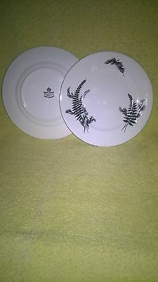 2 x Royal Albert,  NIGHT and DAY  pattern SIDE / TEA PLATES