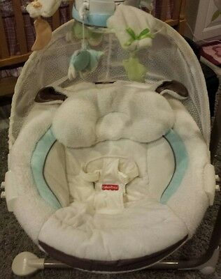 Fisher Price My Little Lamb Cradle Swing Seat Cover Replacement