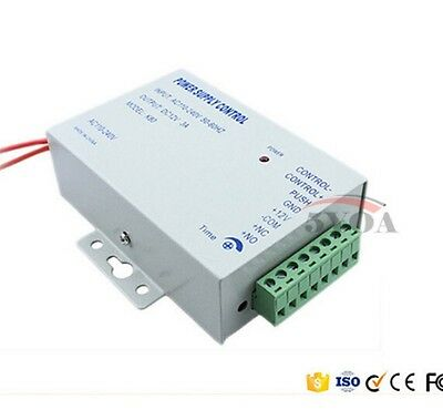 DC 12V New Door Access Control system Switch Power Supply 3A/AC 110~240V