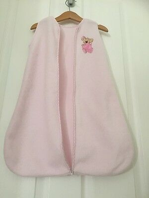 Lovely Pink Baby Girls Summer Sleeping Bag 0-3 Months