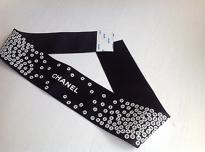 CHANEL Hair Accessory Ribbon Brand New