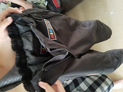 childs motorcycle jacket and trousers