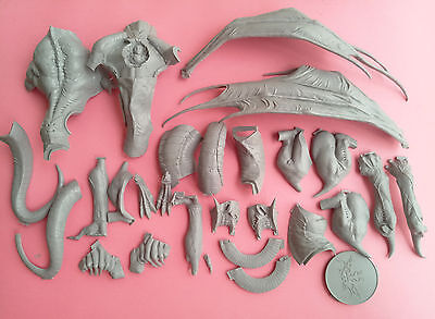 54mm resin kingdom death Dragon King Expansio Unpainted Unbuild X02