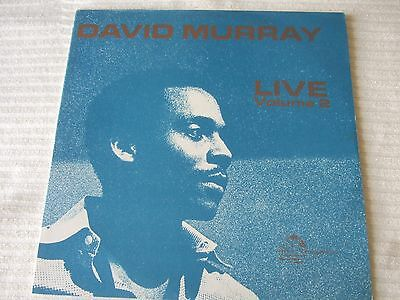 "DAVID MURRAY  -  ""LIVE VOLUME 2""......12inch LP"