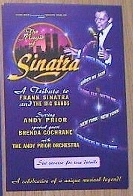 1997 The Magic Of Sinatra - Andy Prior & Brenda Cochrane (Guest) Flyer