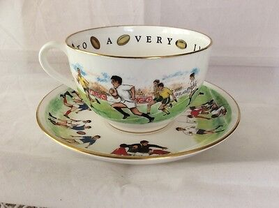 Royal Worcester VIP Footballers Cup & Saucer