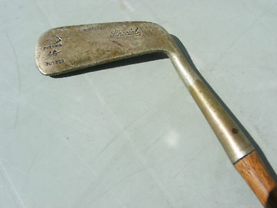 Vintage Antique Hickory Shaft Golf Club Pyramid Putter Special