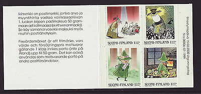 Finland 2000 MNH - Moomin - booklet with 4 stamps