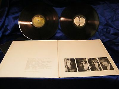 BEATLES (double LP): WHITE  -  FIRST PRINT