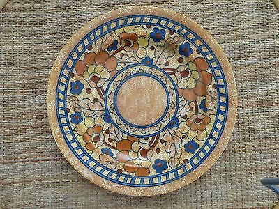 """Charlotte Rhead 12"""" Byzantine charger by Crown Ducal"""