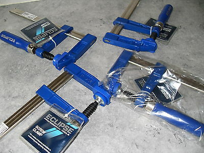 """4 Eclipse 8"""" Screw Clamps F.clamps"""