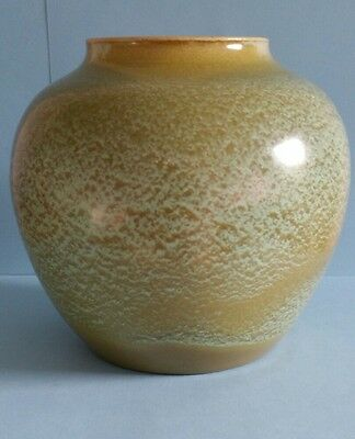 Gorgeous Glazed Green Pottery Posy Vase Bowl Jar