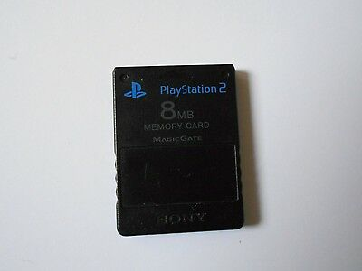 Playstation 2 Memory Card Black