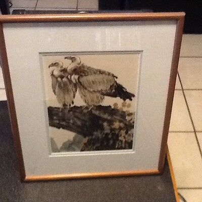 Excellent 6 Chinese Scroll ink PAINTINGS signed art  by style XU BEIHONG