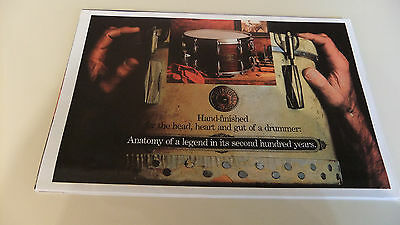 NEW 1980s Gretsch Drums Fold-Out Poster Catalog