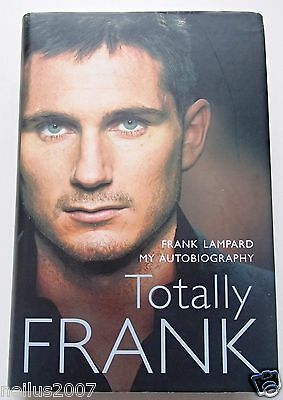 Autobiography Frank Lampard Hand Signed Signature Autograph Book Chelsea England