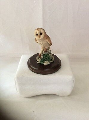 Country Artists Miniature Barn Owl