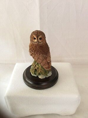 Country Artists Miniature Tawny Owl