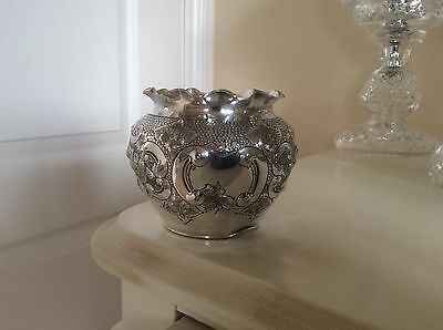 Antique Sheffield Silver Plated  Cache-pot Lee&Wigfull 1850-1859