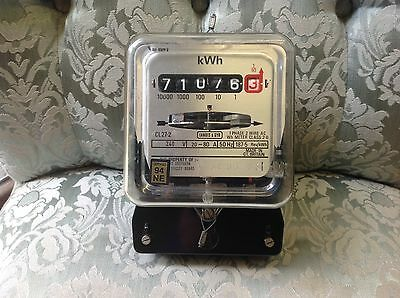 Used Electric meter, good working condition, see pictures please.no-1.