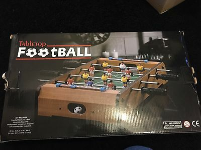 Brand new in box - Tabletop football