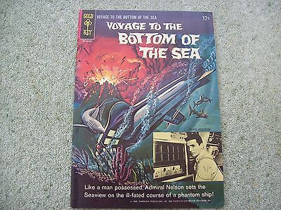 Voyage To The Bottom Of The Sea # 3 - Gold Key 1965