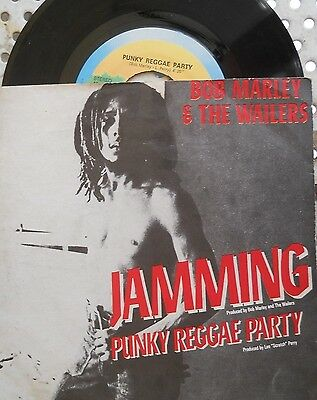 "Bob MARLEY & the WAILERS - "" Jamming / Punky Reggae Party"" - 7"""