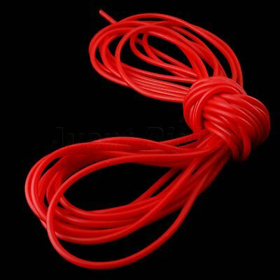 10M RED Strong Elastica Bungee Latex Rubber Band Tube for Slingshot Catapult2050