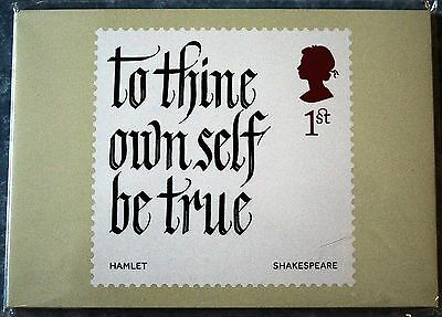 2016 SHAKESPEARE NEW SEALED PHQ CARDS SET OF 10. No 413. NEW ISSUE 05/04/16