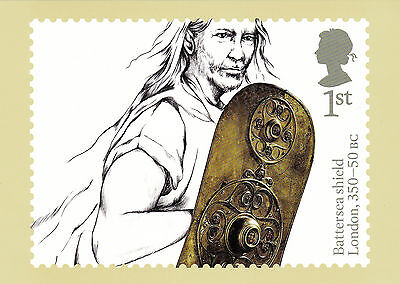 2017 ANCIENT BRITAIN NEW SEALED SET OF 8  PHQ CARDS. No 424. NEW ISSUE 17/01/17