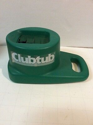 Denali ClubTub Club Tub Golf Club Cleaner Washer Green - Used