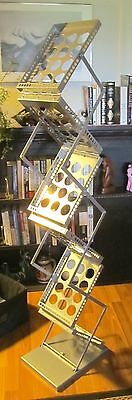 ORBUS ZEDUP1 FOLD UP RACK LITERATURE PAMPHLET STAND ZD-1-S TRADE SHOW W/ Bag