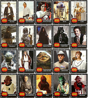 2017 Topps Star Wars On Demand May the 4th 20 Card Set-Han/Luke/Leia/Vader+++