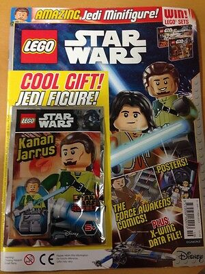 LEGO STAR WARS Magazine KANAN JARRUS SEALED PACKET WITH ISSUE 19