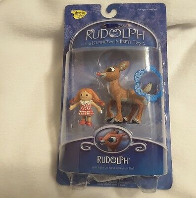 2002 Rudolph And The Island Of Misfit Toys New Action Figure Memory Lane New