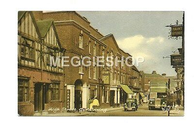Surrey: Godalming High Street - Vintage Postcard By Frith