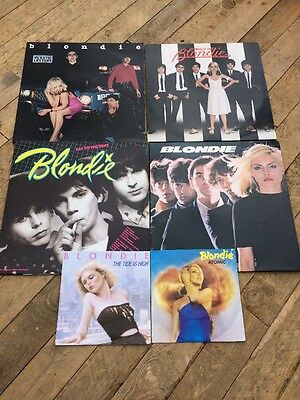 Collection Of Blondie Albums And Singles