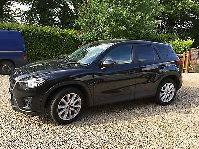 2012 MAZDA CX-5 SPORT NAV D 4X4 AUTO BLACK with SkyActive Technology 170PS